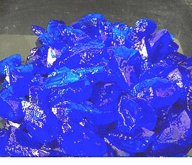Sulfato de cobre pentahidratado cristales mayores a 12,0 mm