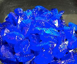 Sulfato de cobre pentahidratado cristales de 6,0 mm a 12,0 mm